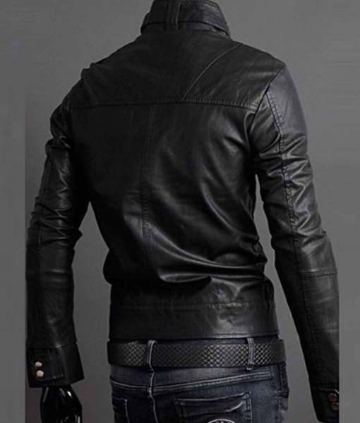 mens-stand-collar-slim-fit-buckle-collar-faux-leather-jacket