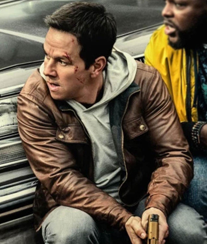 Spenser Confidential Mark Wahlberg Leather Jacket Jackets Creator