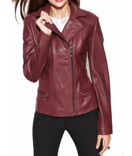 womens-burgundy-leather-biker-jacket