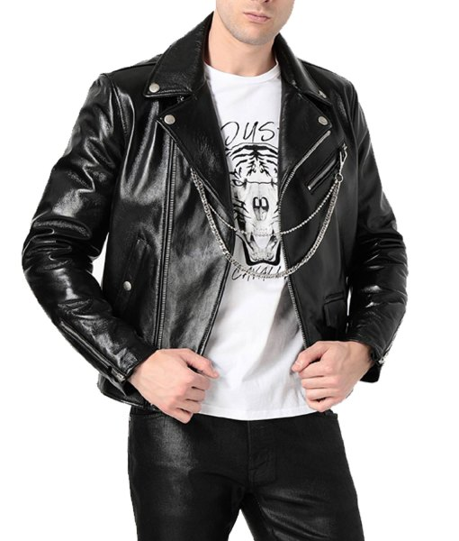 chains-leather-jacket