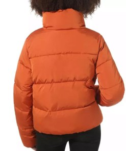 denise-petski-empire-teri-orange-puffer-jacket