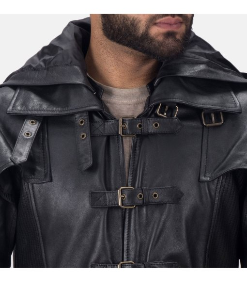 mens-black-leather-trench-coat-with-hood