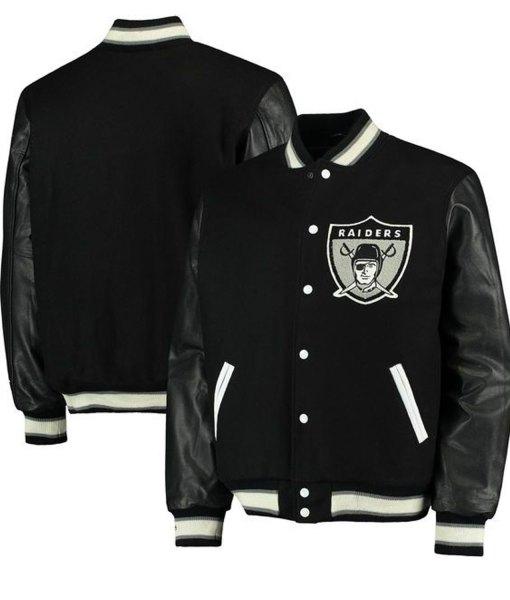 mens-oakland-raiders-jacket