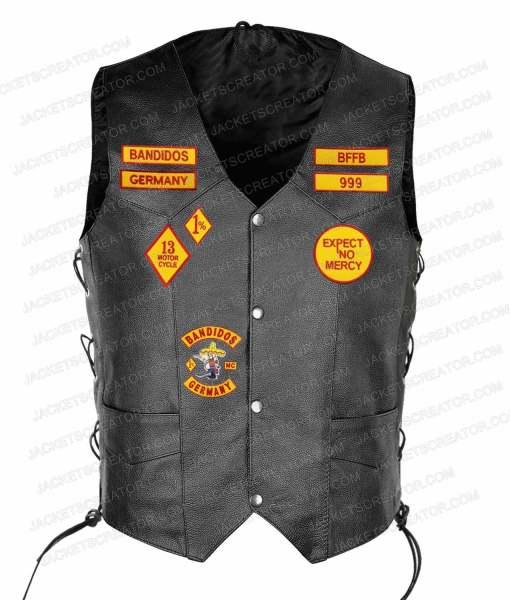 biker-bandidos-leather-vest