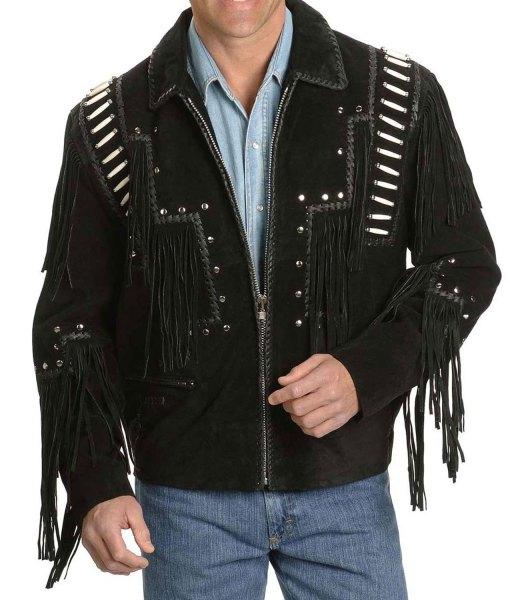 black-fringe-jacket