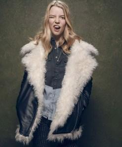 ana-taylor-joy-shearling-leather-jacket