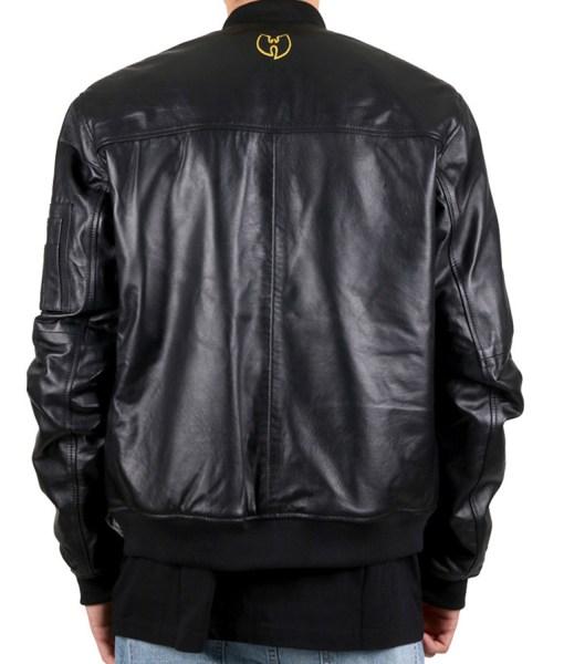 black-bomber-wu-tang-leather-jacket