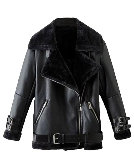 winter-belted-black-shearling-leather-jacket