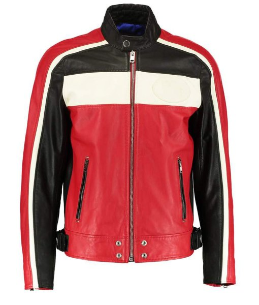 mens-black-red-and-white-leather-jacket