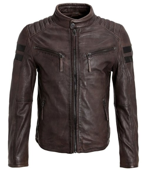 mens-cafe-race-brown-leather-jacket