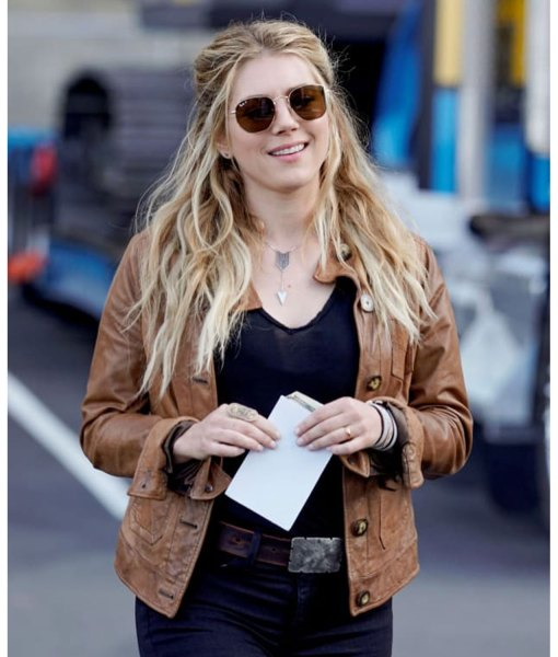 jenny-hoyt-brown-leather-jacket