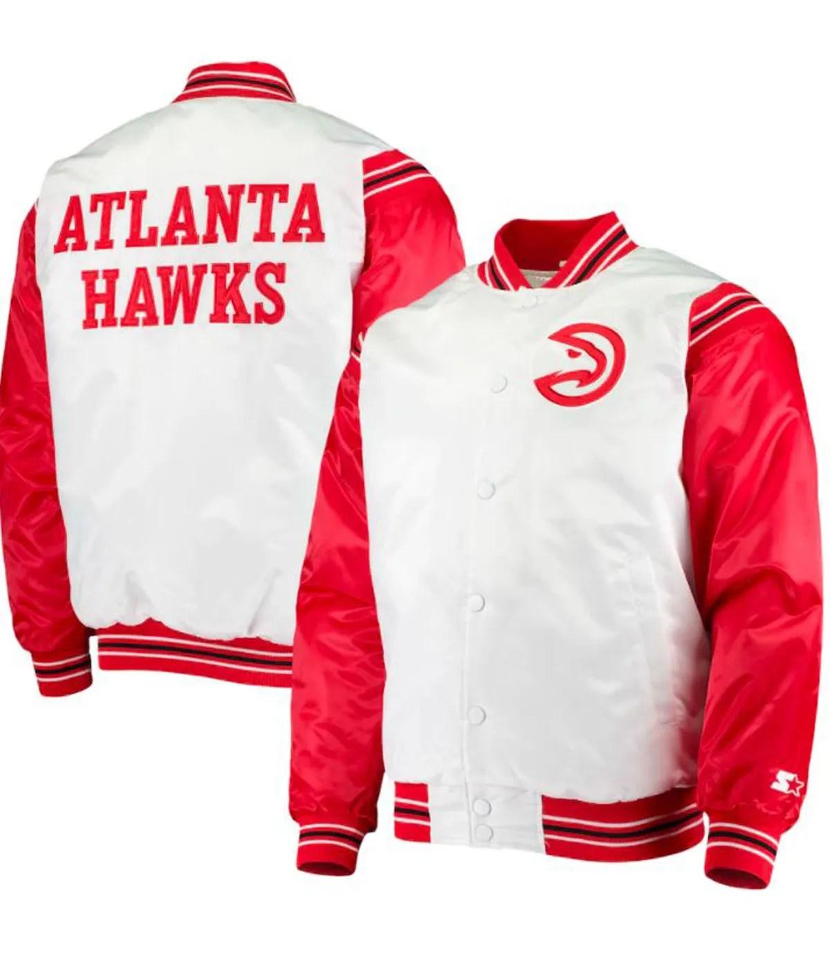 atlanta-hawks-bomber-red-and-white-satin-jacket