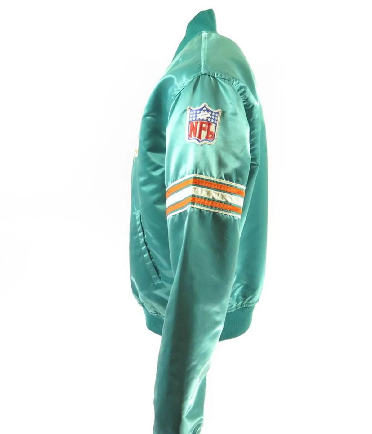 green-miami-dolphins-starter-jacket