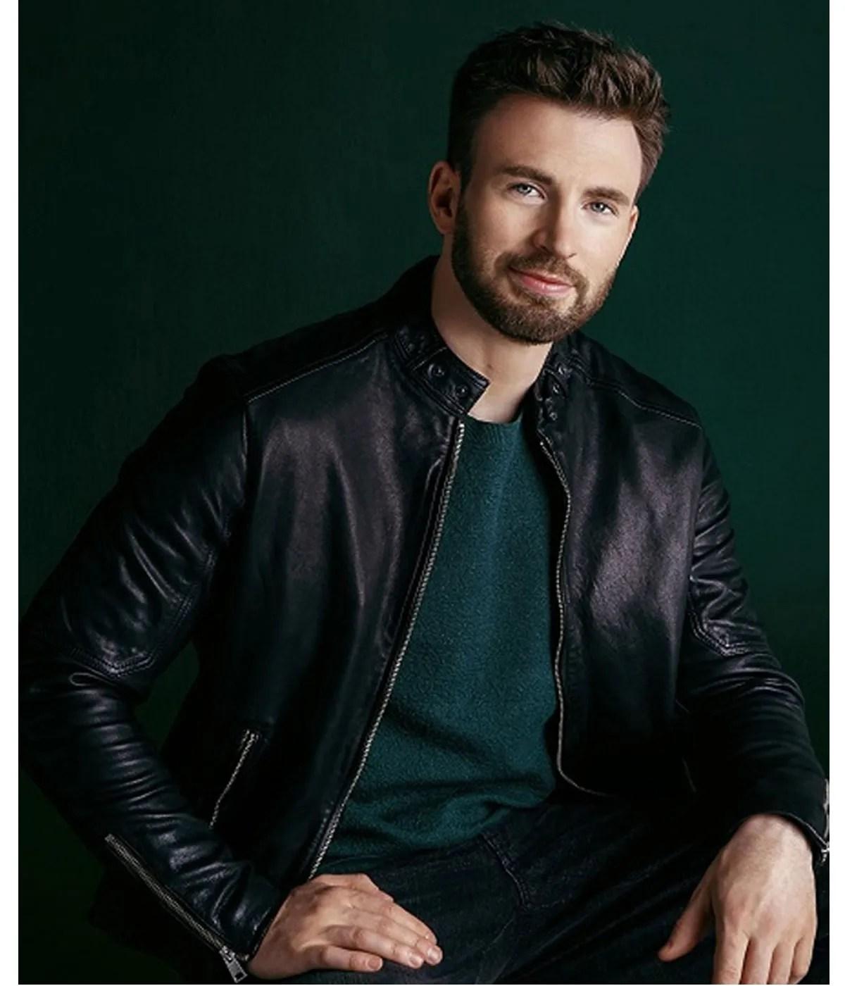 live-smarter-better-world-chris-evans-black-jacket