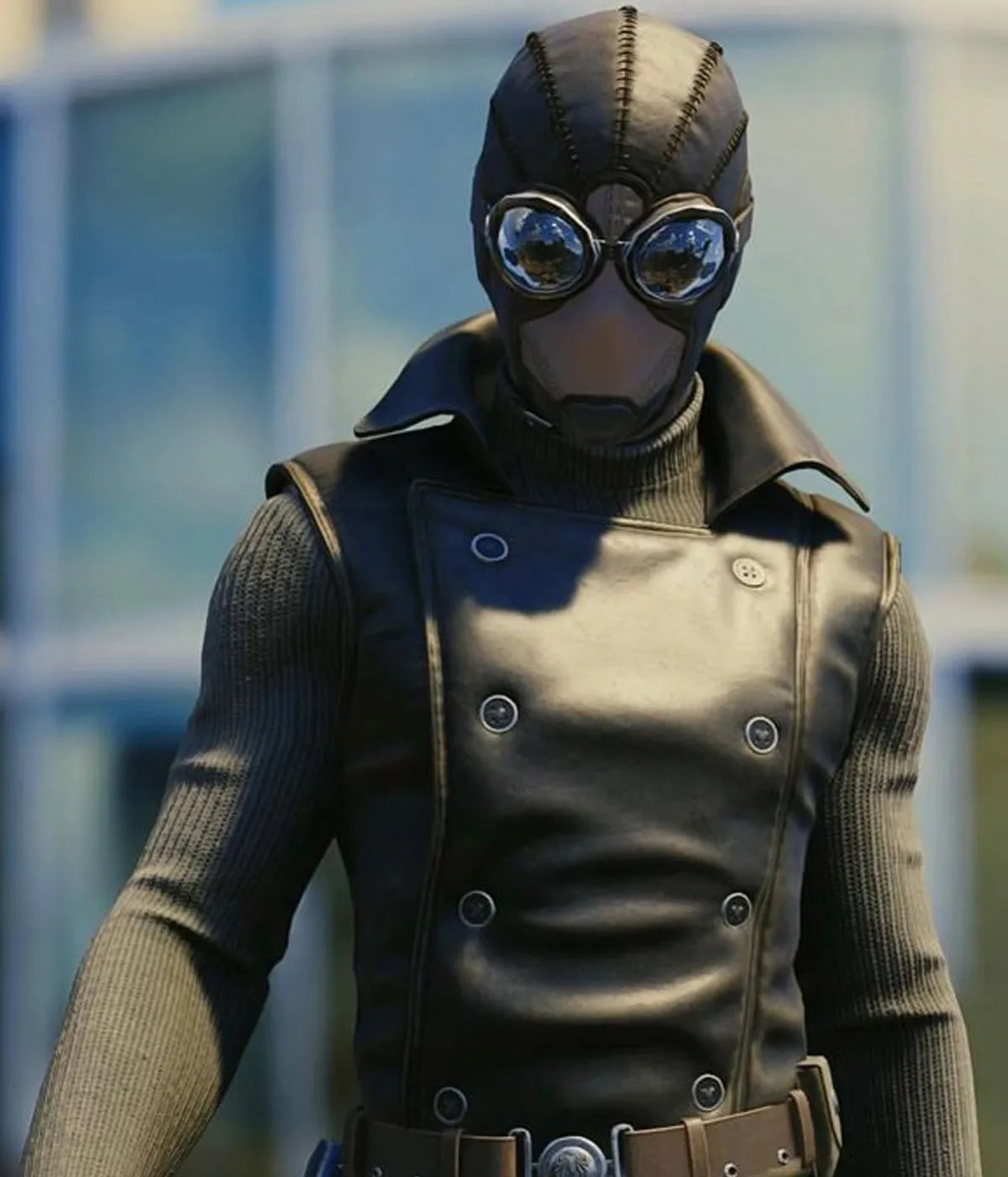 spiderman-leather-vest