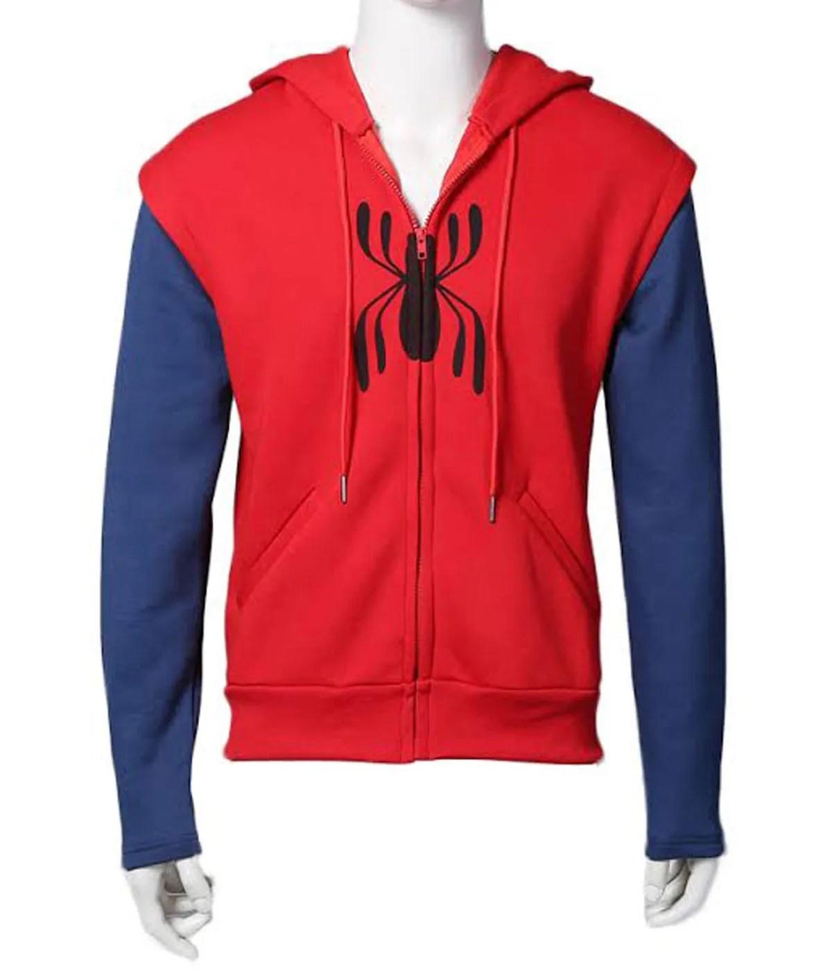 tom-holand-spiderman-zip-up-hoodie