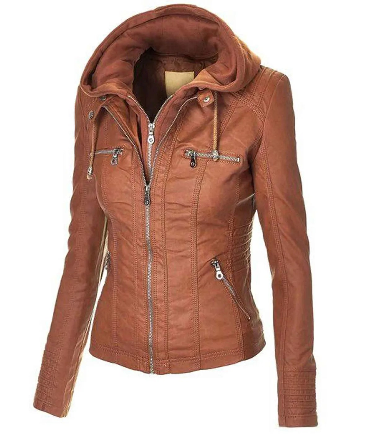 womens-casual-brown-jacket