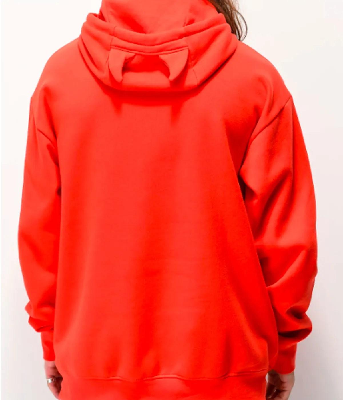goodie-horn-red-hoodie