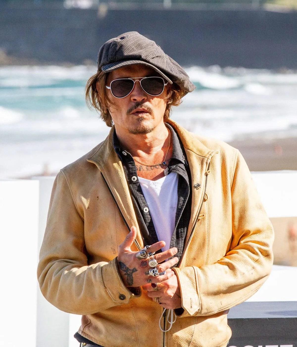 johnny-depp-crock-of-gold-brown-leather-jacket