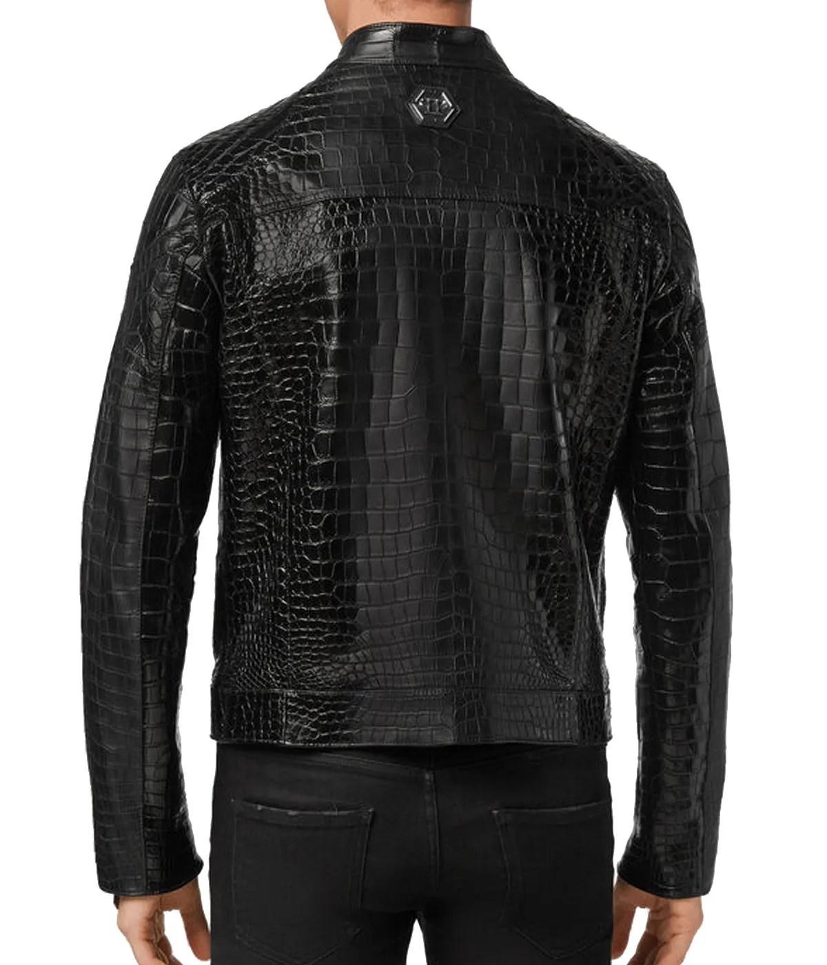 mens-snap-tab-collar-black-alligator-jacket