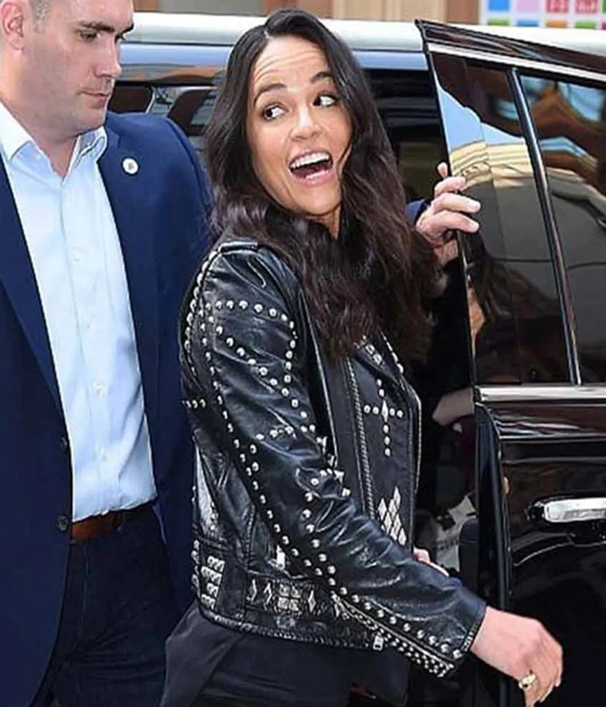 michelle-rodriguez-fast-and-the-furious-9-studded-jacket