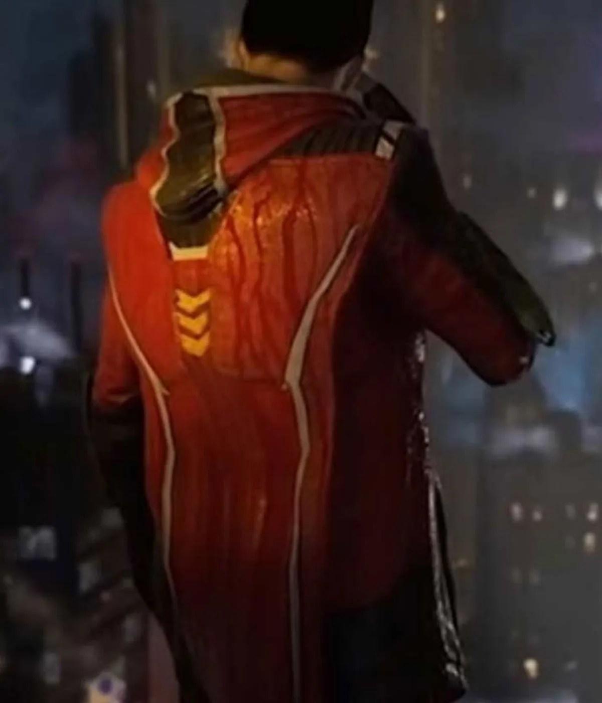 robin-gotham-knights-red-leather-hood