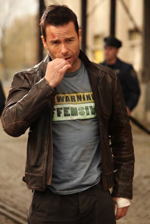 Cute Sad Wallpaper Snow Lockout Leather Jacket Distressed Brown Guy Pearce