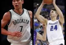 Jeremy Lin vs Kobe Paras