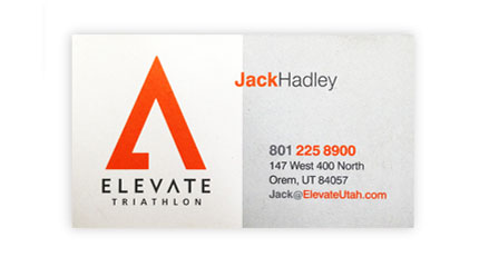 Jack Hadley Elevate Triathlon