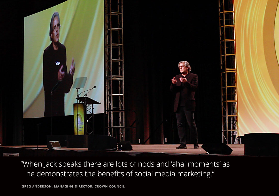 Jack Hadley Social Media Speaker Author