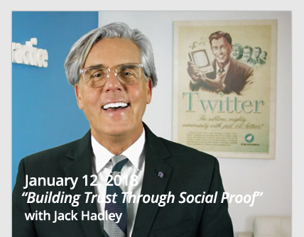Jack Hadley Social Proof