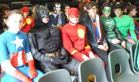 Jack Hunt School  Heroes and Villains Raise Money for