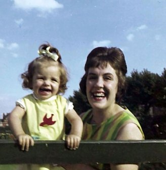 Jackie and Mum on Reddish Park