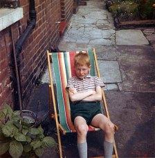 Mike in a Deckchair