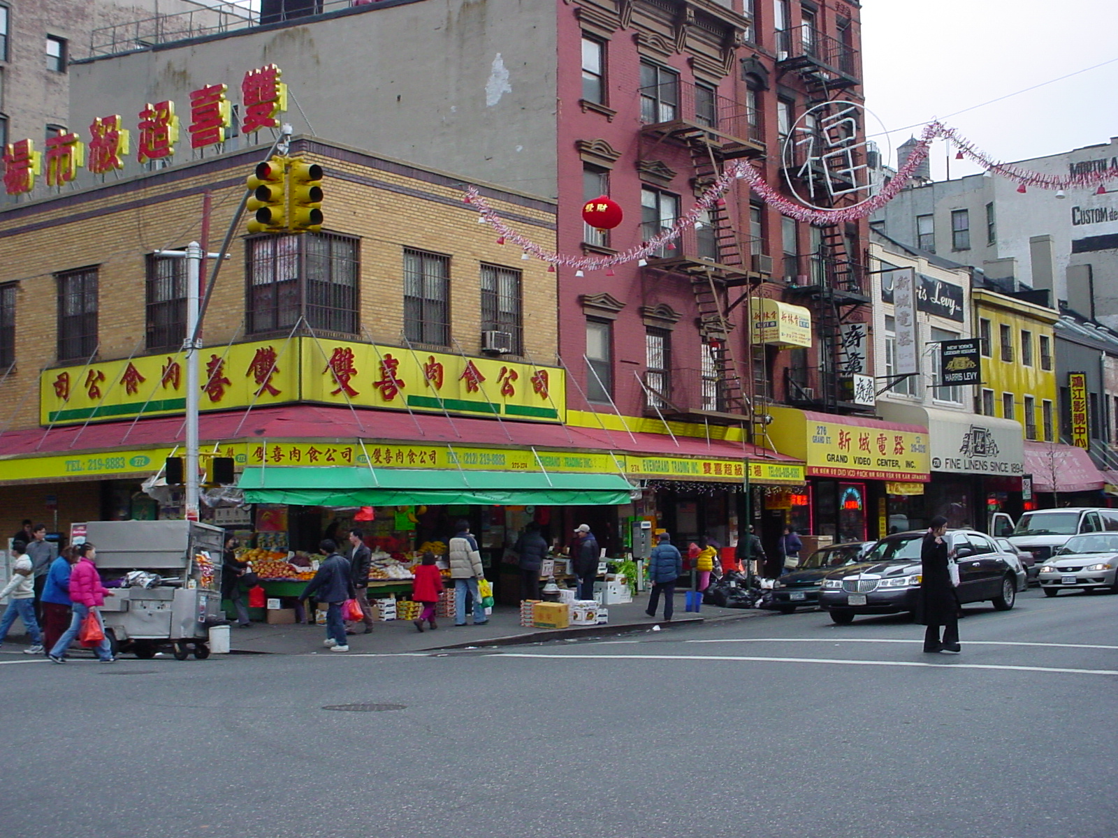 Colorful photos of Chinatown in New York City  Places
