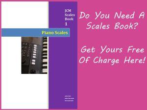 free piano scales book
