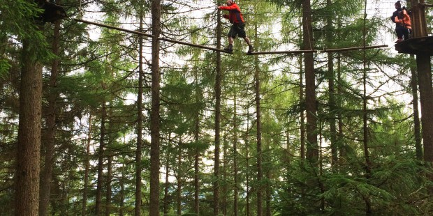 Go Ape Aberfoyle Tree Top Adventure in Scotland | Review by Jackie Jets Off | Part time travel blog