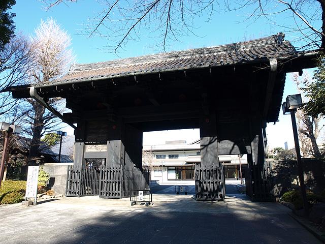 旧本坊表門