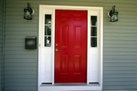 We Have a Red Front Door!