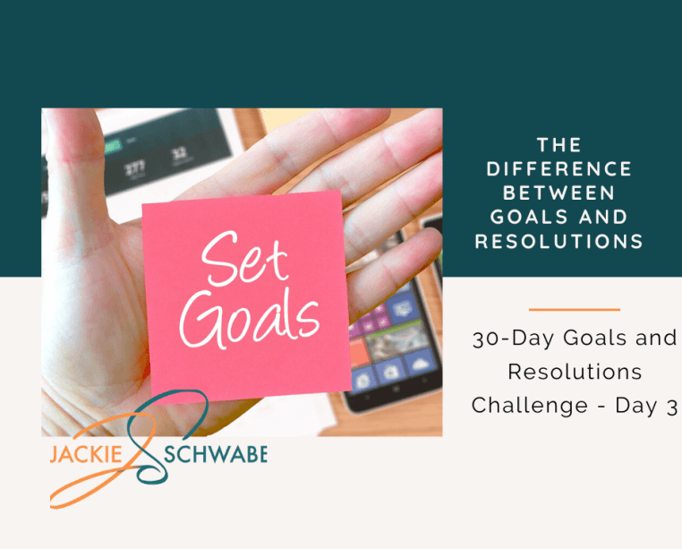 What's The Difference Between a Goal and Resolution