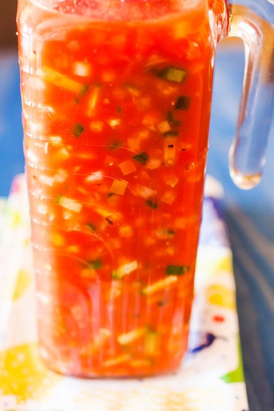Jackie's Famous, and Previously Secret, Recipe for Gazpacho