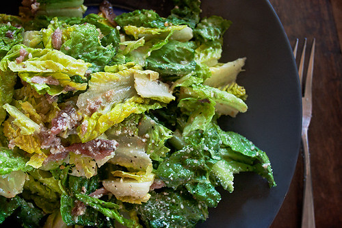 Classic Caesar Salad Recipe and Photo by Jackie Alpers
