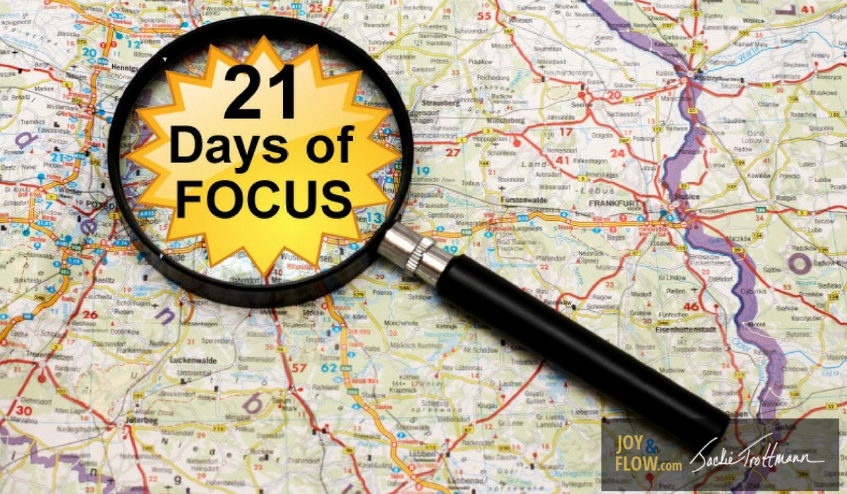 21 Days of Focus