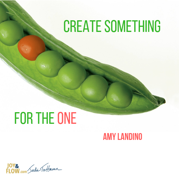 Create Something for the One