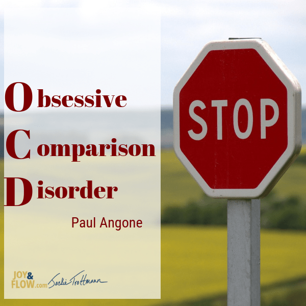 Stop Obsessive Comparison Disorder