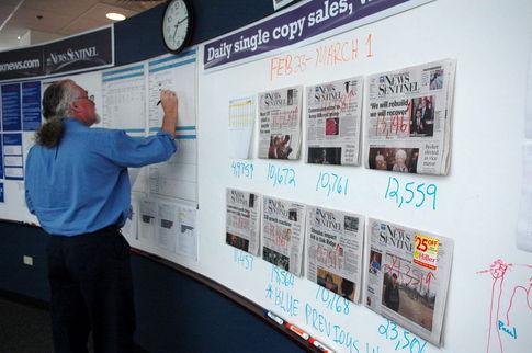 Newsroom visual communication center