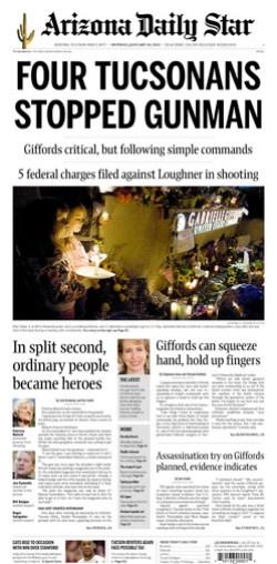 Arizona Daily Star Page One