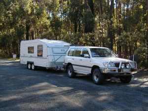 Landcruiser and Caravan