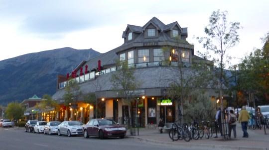 Gift shops galore in Jasper.
