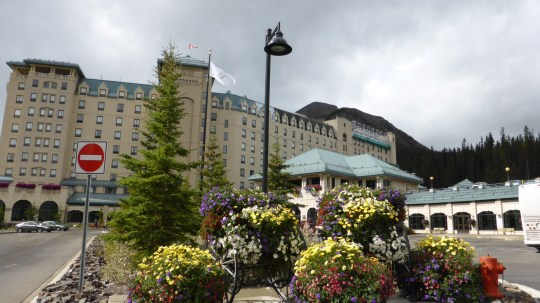 Fairmont Hotel at Lake Louise